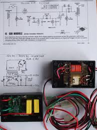 cdi ingnition system please help me build one electronics this is a combination of the cdi kit the other circuit hv unit ive used