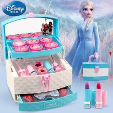 barbie frozen portable cosmetic case
