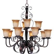 maxim lighting aspen 12 light oil rubbed bronze chandelier