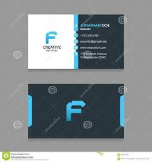 Front Logo Design F Abstract Letter Logo With Modern Corporate Business Card