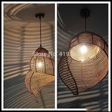 creative lighting fixtures. Fine Lighting Chinese Retro Escargot Rattan Bedroom Balcony Light Creative Lighting  Fixtures Restaurant Bar Art Chandelier Lamp Antique Lightin Pendant Lights From  To Creative Lighting Fixtures F