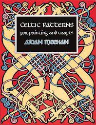 Aidan Meehan Celtic Design Series Celtic Patterns Painting Book Aidan Meehan 9780500279380