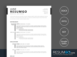 Timo Simple Stylish Resume Template Resumgocom