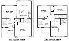 modern two story house plans floor