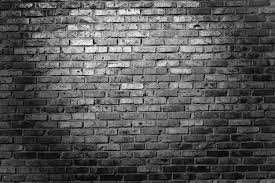 black and white brick wallpaper 113959