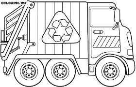 Dump Truck Coloring Pages Dump Truck Coloring Book Pages