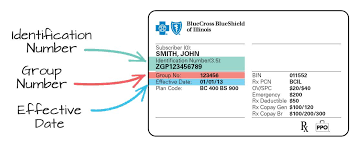 On co Aderichie Member Cross Shield Card Number Blue
