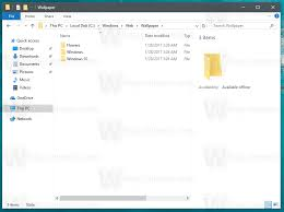 are windows 10 default wallpapers d