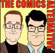 comics alternative podcast logo