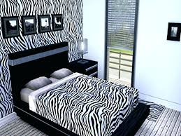 Zebra Print Decorating Ideas Bedroom