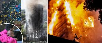 بريطانيا - سقوط قتلى وجرحى في اندلاع حريق في برج سكني ( تحديث )