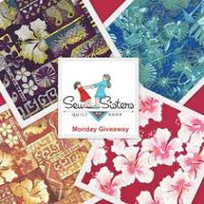 Half metre each of Monkey's Bizzness from Alexander Henry Fabrics ... & Like our facebook page and join the fun every Monday! https://www · The  FunMondaysSistersQuilting Adamdwight.com