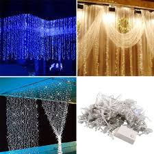 Free Shipping,3 * 3m 300 LED Curtain Happy New Year Lights Christmas Decor  Party Wedding Decoration Home Christmas Decorations.Q