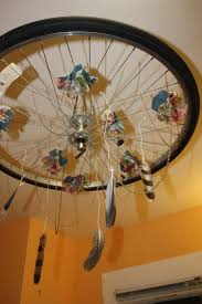 bicycle wheel mobile