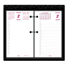 daily page calendar dominion blueline inc brownline jumbo calendar pad refill daily 1 year january 2019 till december 2019 7 00 am to 6 30 printmate 1 day