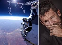 Skydiver Baumgartner telt af naar nieuwe recordpoging · De waanzin van Felix Baumgartner (+ video). Hij zal springen uit een capsule die door een ballon ... - Felix-Baumgartner