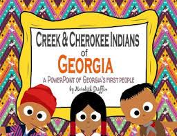 Creek And Cherokee Venn Diagram Creek And Cherokee In Georgia Worksheets Teaching