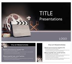 Movie Powerpoint Template Motion Picture Producer Powerpoint Templates