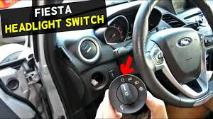 Ford Ka Light Switch Ford Fiesta Headlight Switch Replacement Removal Mk7 St