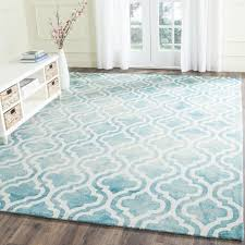 safavieh handmade dip dye watercolor vintage turquoise ivory wool rug 8 x 10 is a handmade rugs that is made from wool mainly use for indoor