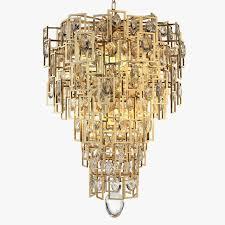 jean de merry kara chandelier 3d model