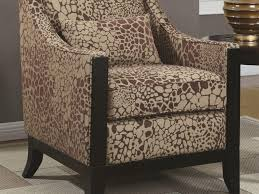 charming leopard accent chair with furniture 52 jonette print accent chair brown zebra print