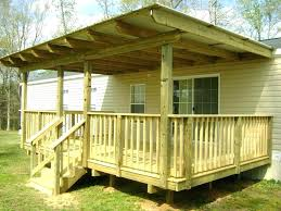 simple deck covered plans mobile home decks and stairs elevated how to build a porch on building a simple deck e93
