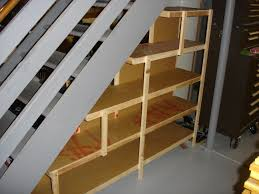 Awesome Under Stairs Closet Storage Plans