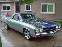 70 Chevy El Camino SS Pro Touring resto mod beautifully done well ...