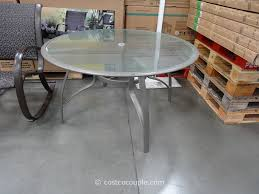kirkland signature 50 inch patio table costco outdoor