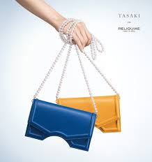 tasaki has always brought innovative and sophisticated designs to the world now based on a new collaboration with reliquiae the brand based in spain