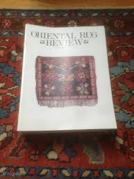 back oriental rug review issues volume 10 3 thru volume 14 4 25 issues