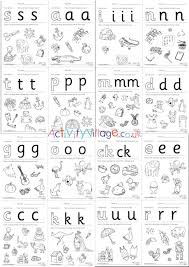 You can do the exercises online or download the worksheet as pdf. All Phase Two Letters Recognition Worksheets