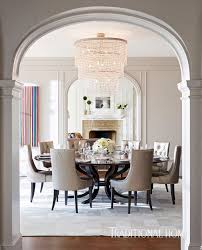 the über elegant dining room of the founder of stella and dot jewelry