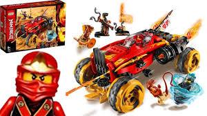 LEGO Ninjago 70675 Lắp Ghép Xe Quái Vật Địa Hình Katana 4x4 - YouTube