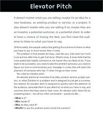 Elevator Pitch Examples For Students Template Elevator Pitch Examples Speech Template For College