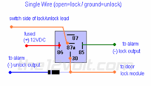 locks nissan s single wire 91 95 using 1 relay and 1 diode door locks nissan s single wire 91 95 using 1 relay and 1 diode type f door lock