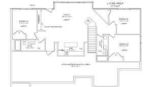 Basement Design Plans Model Simple Inspiration