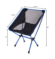 TrekUltra Camping Fold Up Chairs with Bag - Portable Lightweight Heavy Duty  Compact - Great for Sporting Motorcycling Backpacking Kayaking Outside  Chair for ...