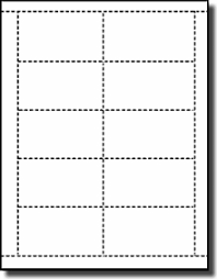 Printable Blank Cards 2 500 Compulabel 430110 Bulk Package Printable Tray Tags Use Avery Template 250 Sheets
