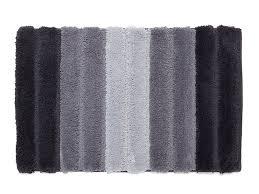bathroom rugs gray striped bath rugs bath mats polyester non skid 20 x 32