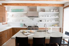 Open Kitchen Shelf 28 Creative Open Shelving Ideas Freshomecom