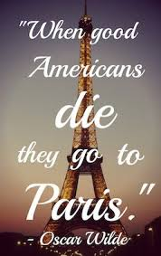 oscar wilde quote about paris for pinterest