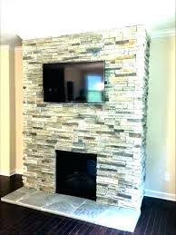 fake stone fireplace faux replace save mantel shelves for stones medium size of ideas electric ide fake stone fireplace