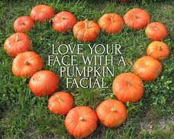 Image result for pumpkin facial blog