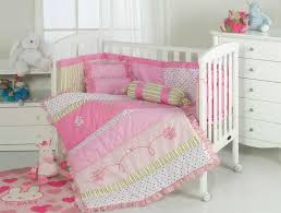 baby girl s romantic flower cot bed per set quilt cover sheet