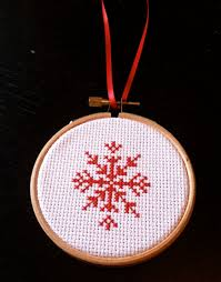 Cross Stitch Christmas Ornaments Patterns Free Simple Inspiration Design
