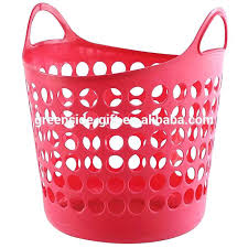 Pink Plastic Laundry Basket New Pink Plastic Laundry Basket Round Plastic Laundry Basket China