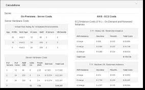 The New Aws Tco Total Cost Of Ownership Calculator Aws