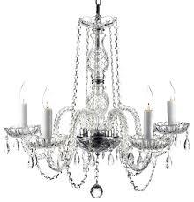 plug in chandelier dressed with swarovski crystal chandelier